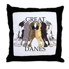 6C Lean GDs Throw Pillow