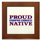 Corpus Christi Native Framed Tile