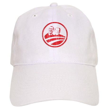 Obama Biden (red vintage face Cap