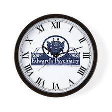 Edward's Psychiatry Wall Clock