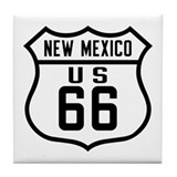 Route 66 Old Style - NM Tile Coaster