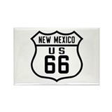 Route 66 Old Style - NM Rectangle Magnet