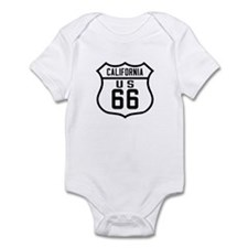 Route 66 Old Style - CA Infant Bodysuit