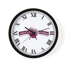 Alice's Psychic Hotline Wall Clock