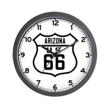 Route 66 Old Style - AZ Wall Clock