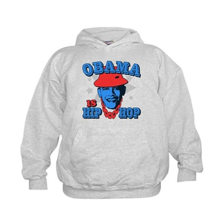 Obama is Hip Hop Kids Hoodie