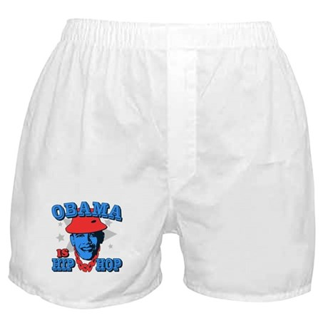 Obama is Hip Hop Boxer Shorts
