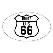 R-66 General Old Style Oval Decal