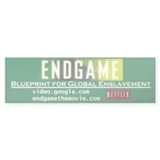 Endgame bumper sticker