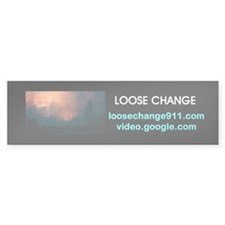 Loose Change bumper sticker