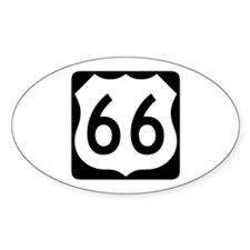 R-66 New Style Oval Decal