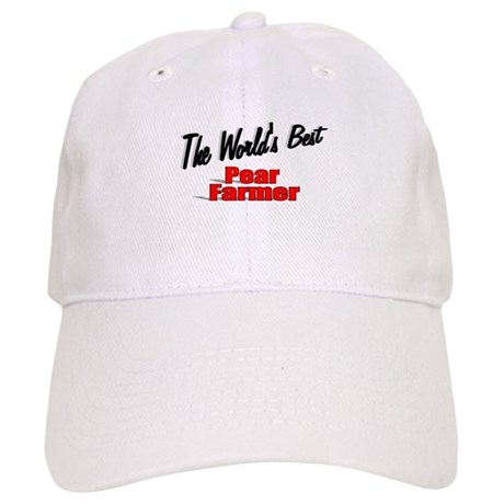"""The World's Best Pear Farmer"" Cap"