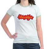Woman's BK Smile Yellow/Red Cloud T