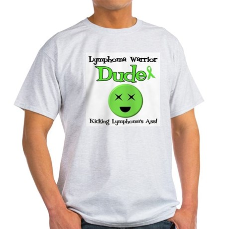 Lymphoma Warrior Dude Light T-Shirt