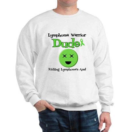 Lymphoma Warrior Dude Sweatshirt