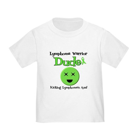 Lymphoma Warrior Dude Toddler T-Shirt