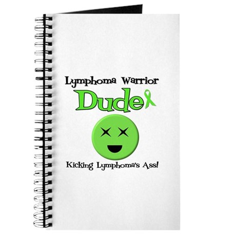 Lymphoma Warrior Dude Journal
