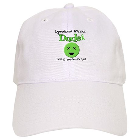 Lymphoma Warrior Dude Cap