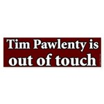 Bumper Sticker Against Tim Pawlenty