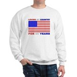 Patriotic 90th Birthday Jumper