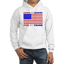 Patriotic 80th Birthday Hoodie
