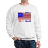 Patriotic 80th Birthday Sweater
