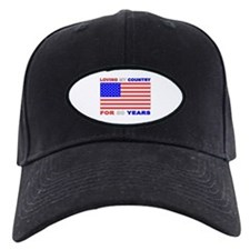 Patriotic 80th Birthday Baseball Hat