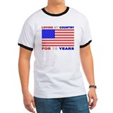 Patriotic 75th Birthday T