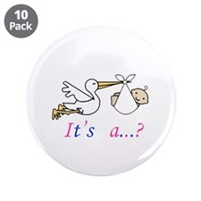 "Unkown Baby 3.5"" Button (10 pack)"