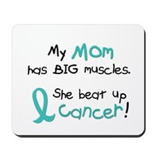 Big Muscles 1.1 TEAL (Mom) Mousepad