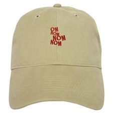 om nom red Baseball Cap
