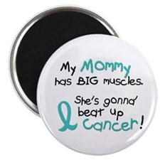 Big Muscles 1.2 TEAL (Mommy) Magnet