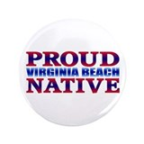 "Virginia Beach 3.5"" Button"