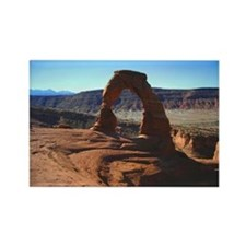 Delicate Arch 01 - Rectangle Magnet