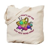 Too Much Yarn! Knitting Tote Bag