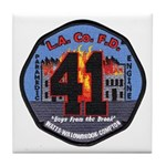 Compton County Fire Tile Coaster