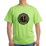 Compton County Fire Green T-Shirt