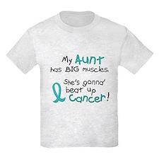 Big Muscles 1.2 TEAL (Aunt) T-Shirt