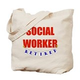 Retired Social Worker Tote Bag