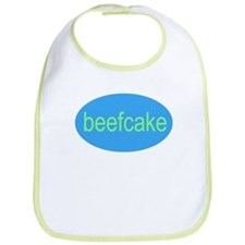 beefcake baby infant chubby fat little kiddo Bib