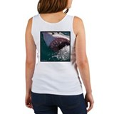 Gaping Jaws Great White Shark Women's Tank Top