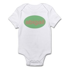 abigail personalized name Infant Creeper