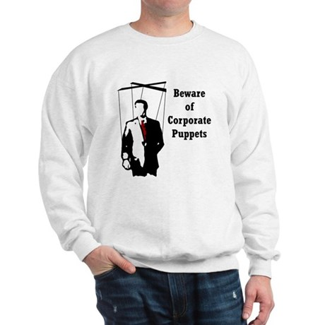 Corporate Puppet Sweatshirt