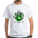 Cicogna Family Crest White T-Shirt