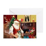 Santa's Boxer (2n) Greeting Card