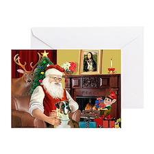 Santa's Boxer (2n) Greeting Card