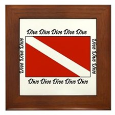 Dive Designs Framed Tile