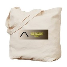 Throw Today Tote Bag