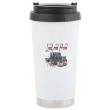 Loud and Proud Trucker Dad Ceramic Travel Mug
