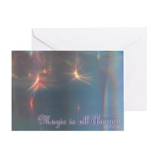 Magic is All Around Greeting Card